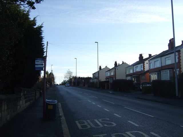 Selby Road (A63) heading east