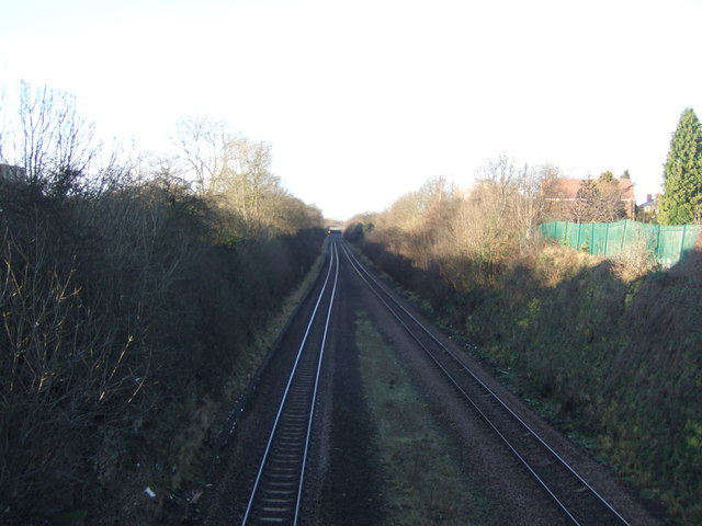 Railway towards Leeds