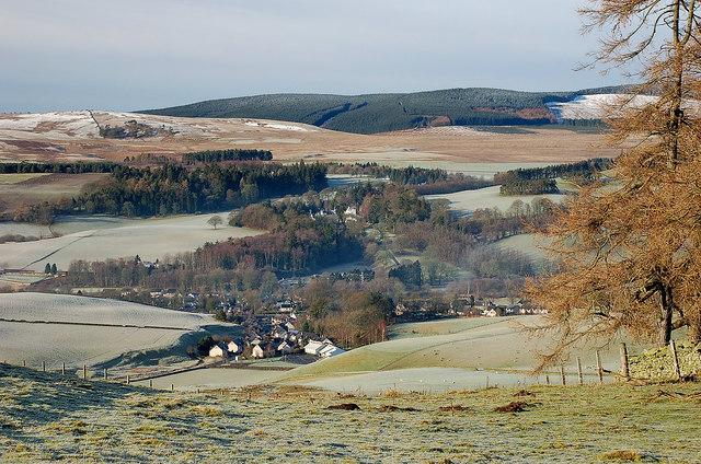Eddleston from Hog Hill