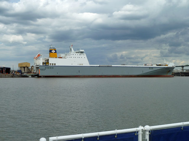 Ro-Ro ship 'Vestpertine'