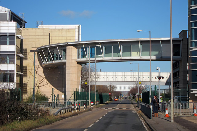 Footbridge over Ramsgate Road