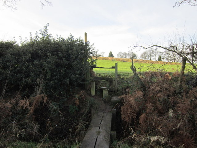 A stile near Birkby Grange