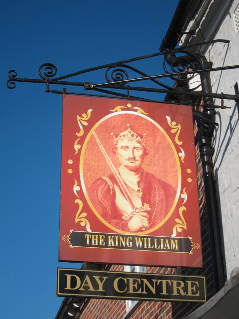 The King William Day Centre sign
