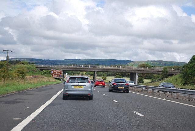 A8 Bridge over the M8