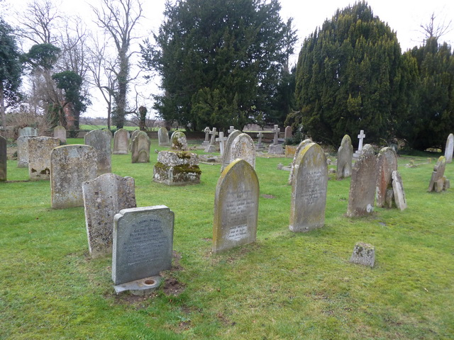The Parish Church of St Peter, Tempsford, Graveyard