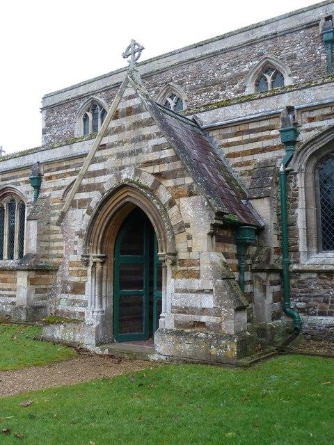 The Parish Church of St Peter, Tempsford, Porch