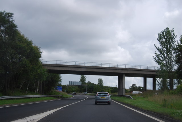 Old Greenock Road Bridge, M898