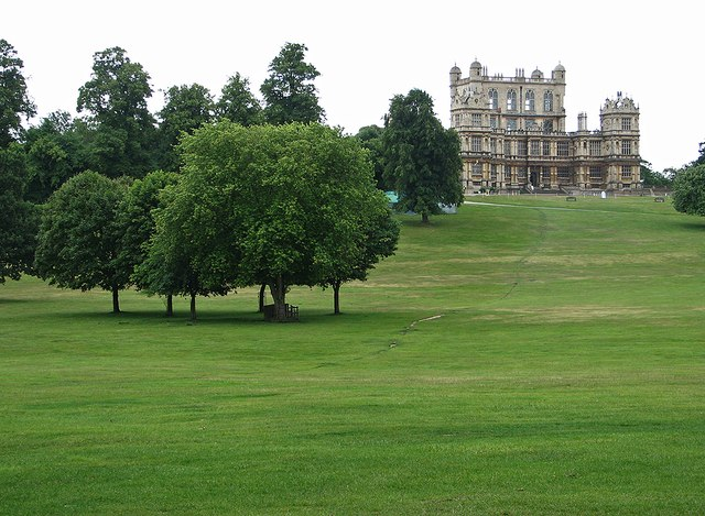 Wollaton Hall from the north