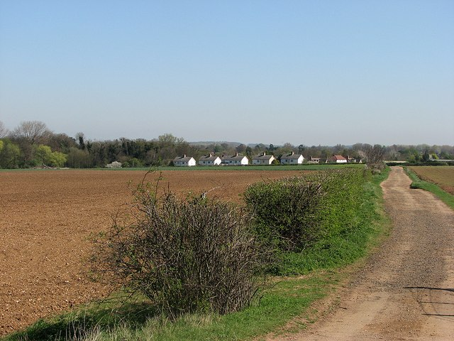 Approaching Whittlesford in April