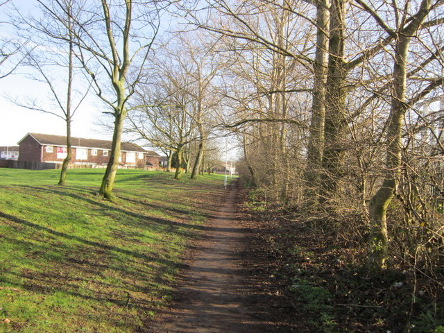 A path from Coal Road to Sherburn Road North