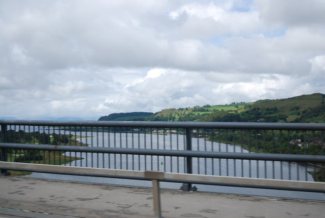 River Clyde from the Erskine Bridge
