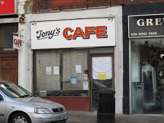 Tony's Cafe, Church Road, NW4