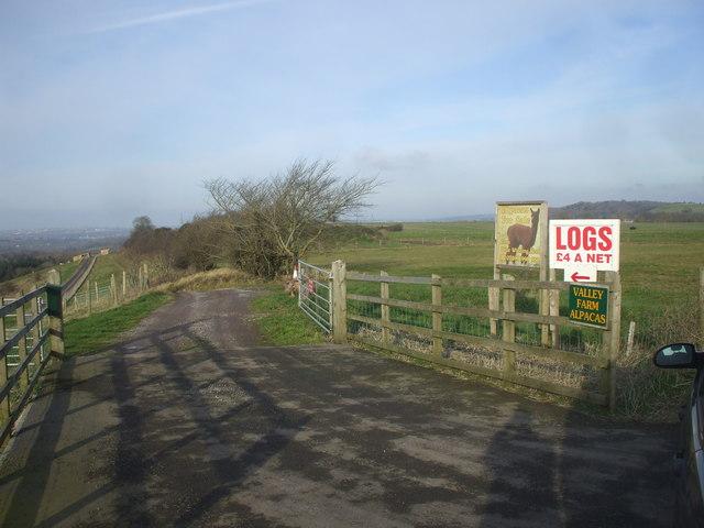 Entrance to Valley Farm, near Marksbury