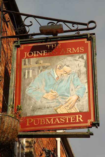 Sign of The Joiners Arms