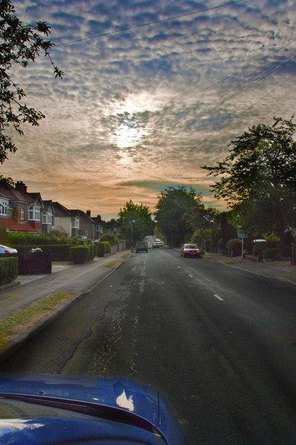 Sunrise at Court Road