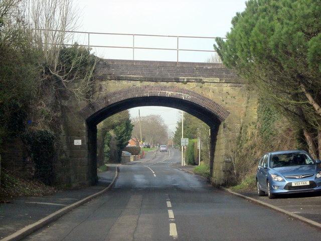 Stoke Prior Railway Bridge, Worcester Branch Line