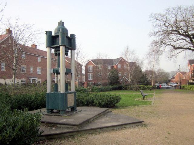 Bromsgrove Newton Road  Garrington Memorial
