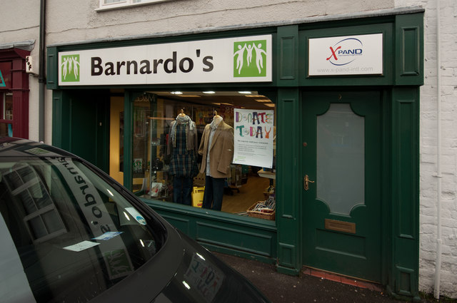 Barnardo's Charity Shop, Tatton Street, Knutsford