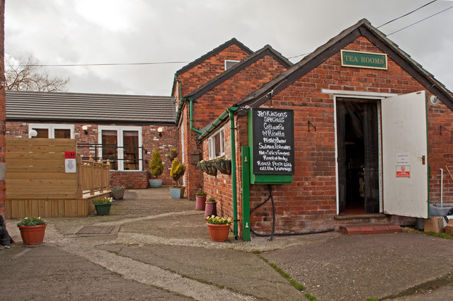 The Cafe at Lady Hayes near Frodsham