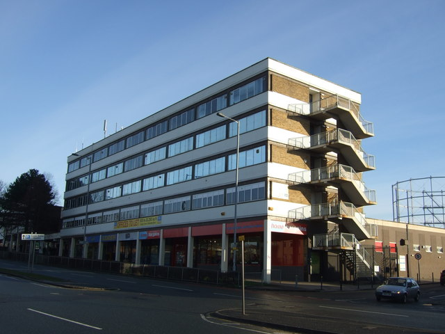 Shops and offices, Cross Gates