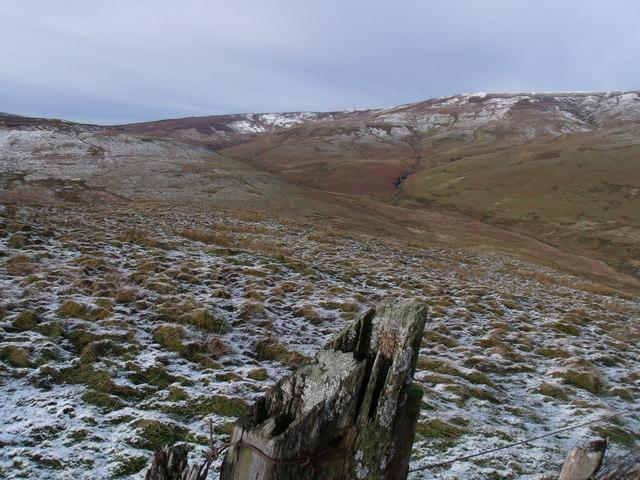 Cwm Rhiwiau in the distance