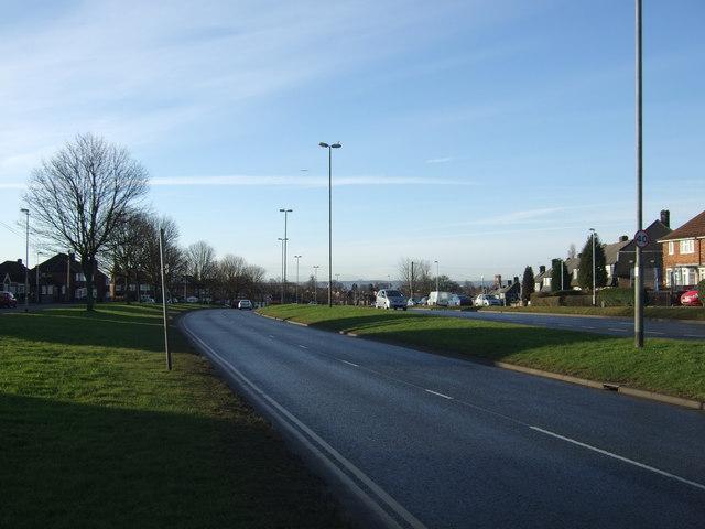 York Road (A64) towards Leeds