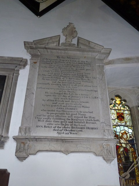 St Mary's Church, Breamore- memorial (f)