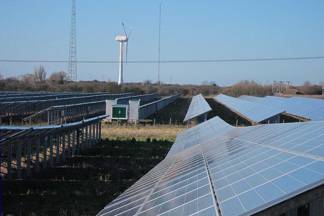 Richborough solar farm