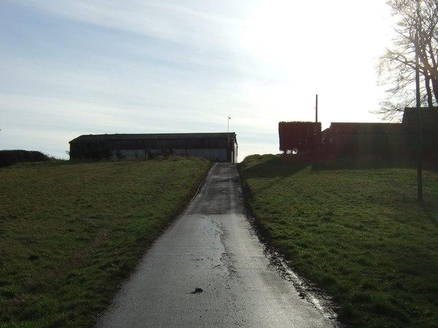 Track to Upper Barnbow Farm