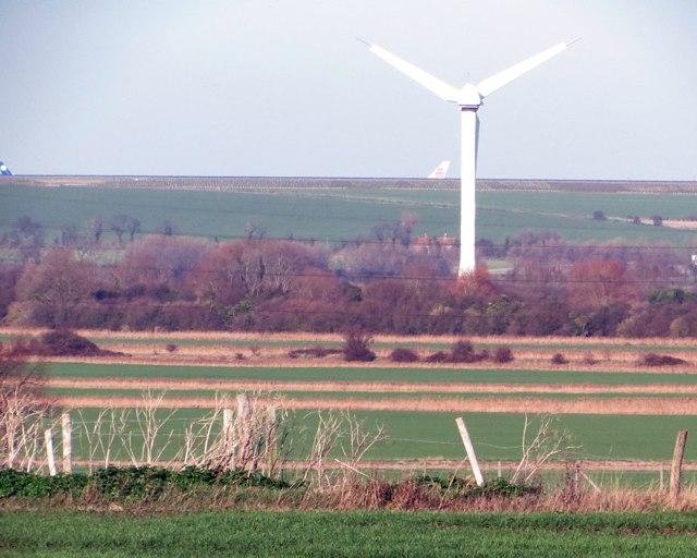 Field north of Richborough Castle