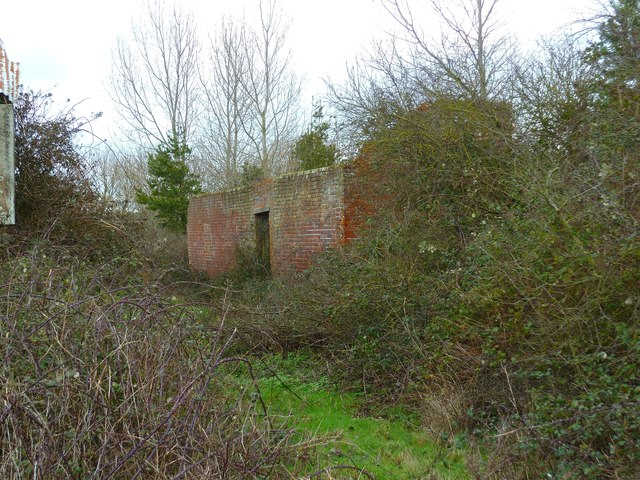 Derelict barn at Ferry Farm