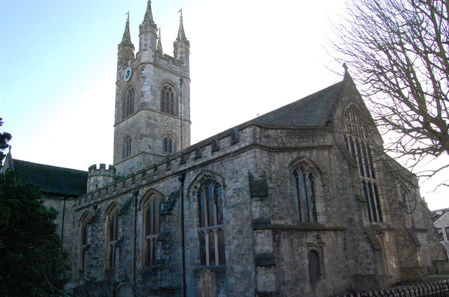 St Mary's church, north west aspect