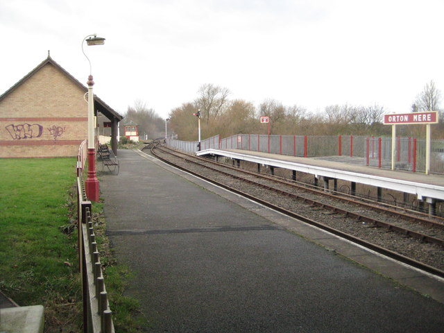 Nene Valley Railway: Orton Mere Station (2)