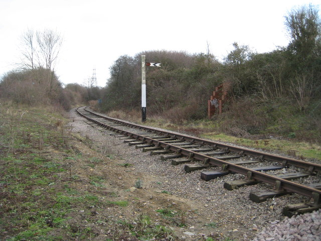 Fletton Branch Railway at Longueville Junction (1)