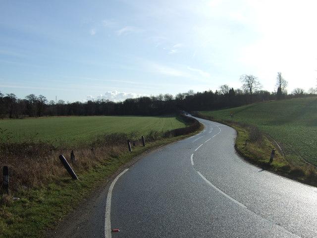 Cattle Lane towards Aberford