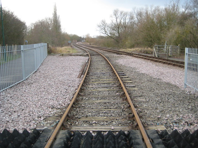 Fletton Branch Railway at Longueville Junction (2)