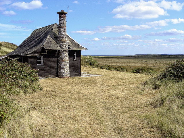Hut on Scolt Head Island