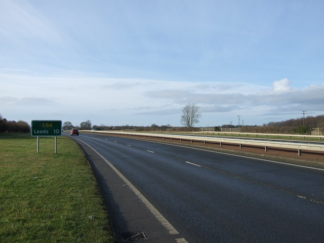 A64 towards Leeds