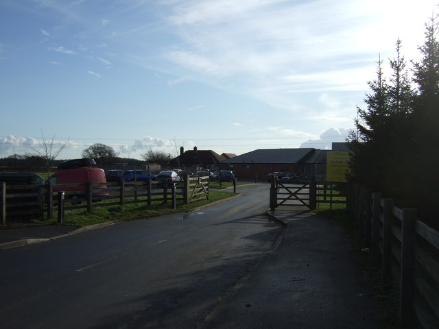 Entrance to Dogs Trust Rehoming Centre