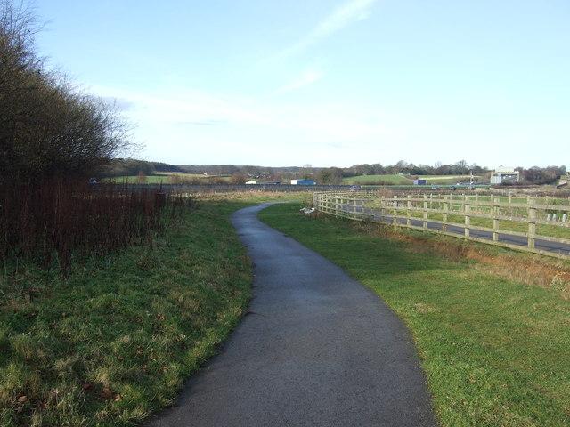 Track to Paradise Farm