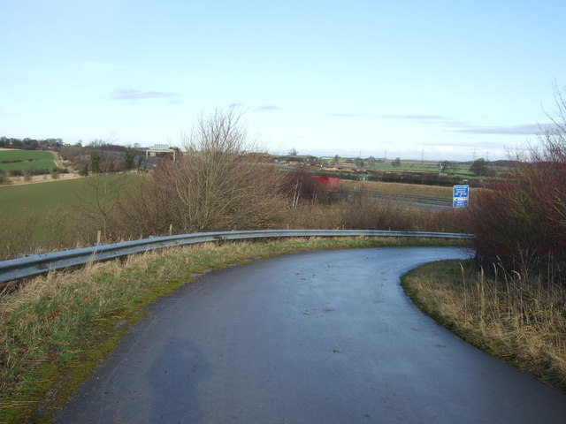 Farm track near the A1(M)