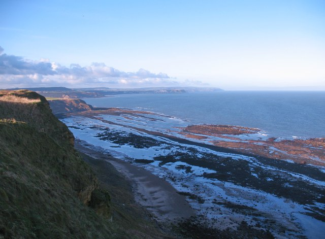View from Gristhorpe Cliff