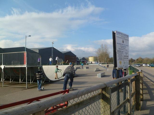 Blandford Skatepark