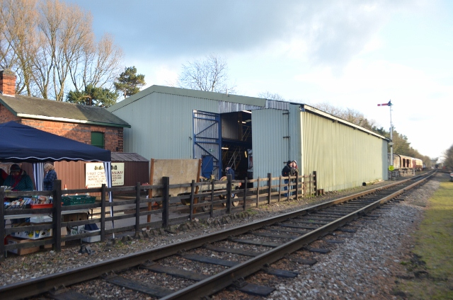 Rothley RVPS Shed