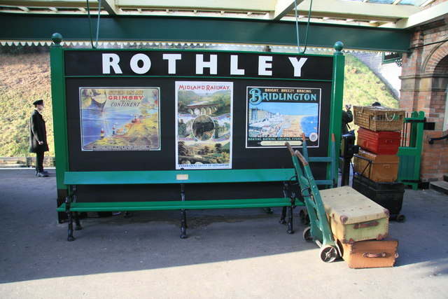 Rothley Station - period advertisements