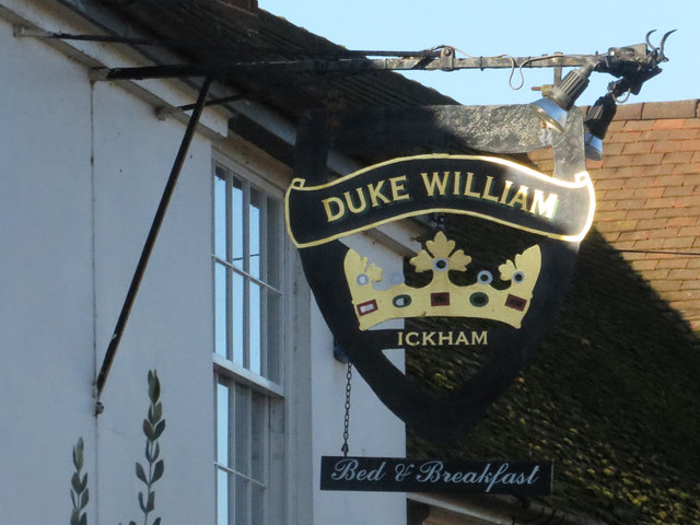 Duke of William sign