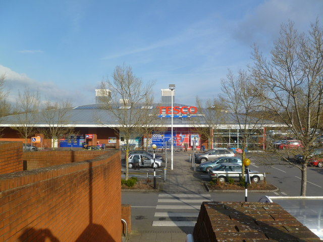 Blandford St Mary, Tesco