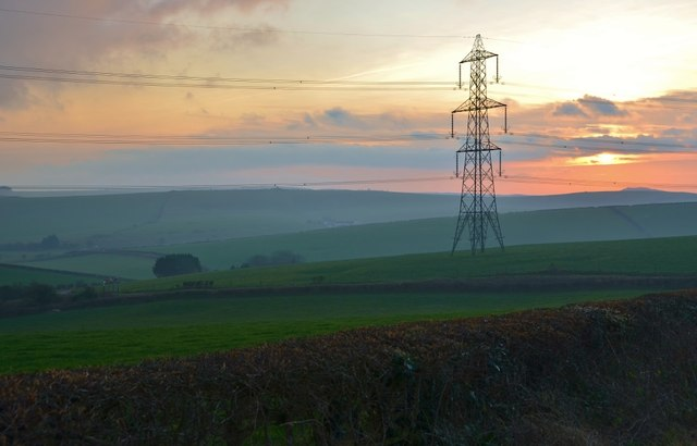 Dorset Landscape near Kingston Russell