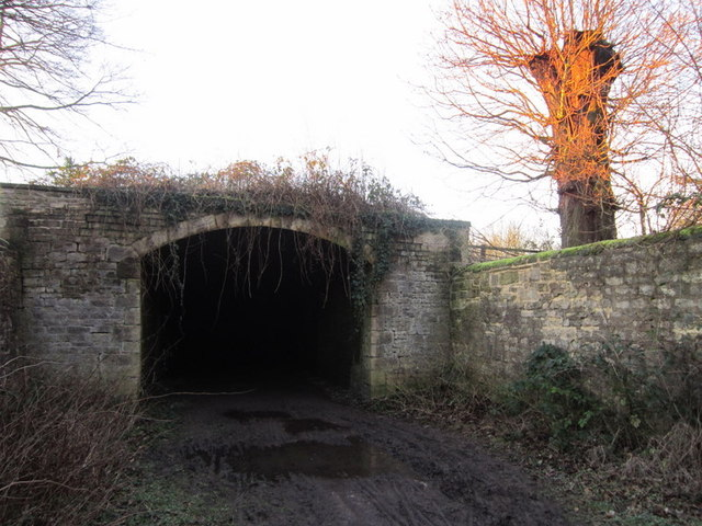 The east end of the Dark Arch