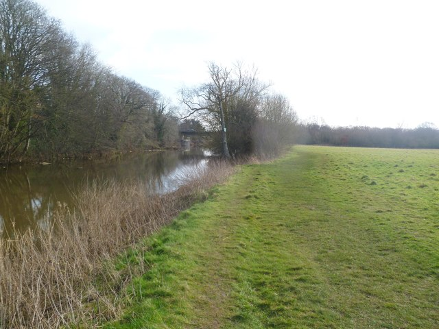 Blandford St Mary, riverside walk